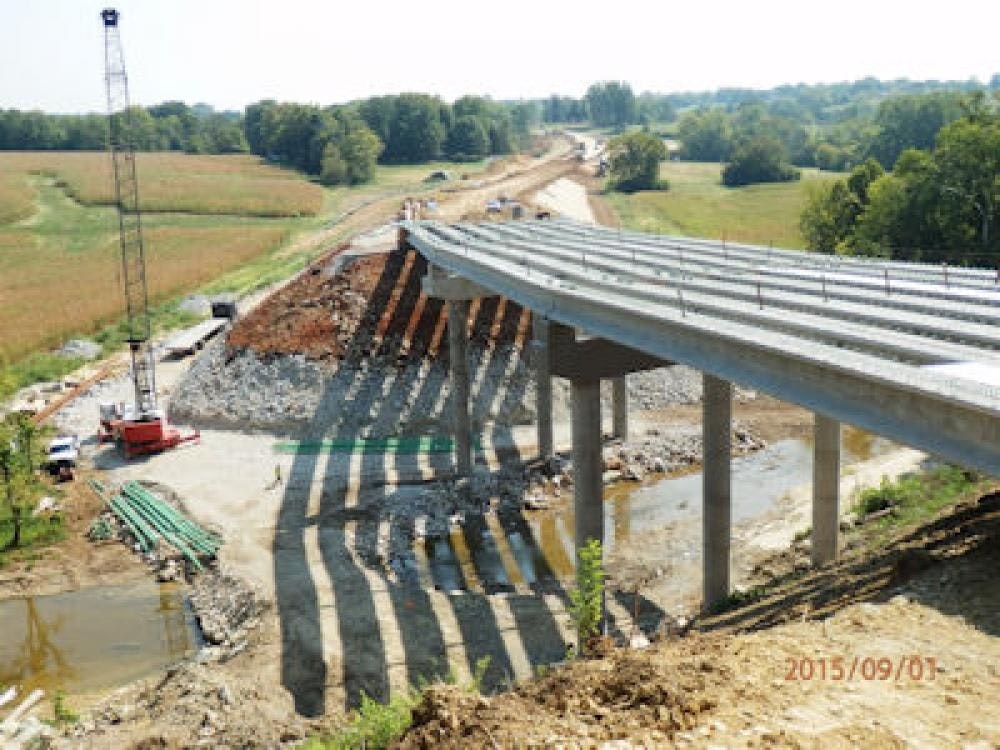 Louisville Paving and Construction Projects Heavy Highway Construction KY 22