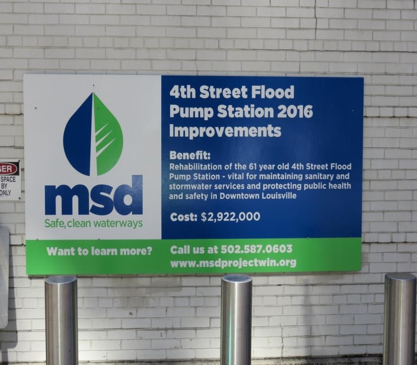 Louisville Paving and Construction Projects Pace Construction MSD Pump Station 2