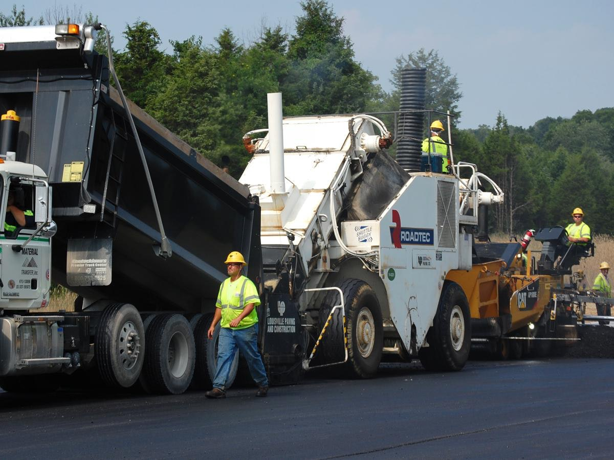 Louisville Paving and Construction Projects Heavy Highway Construction Kydot Ring Road Lagrange Bypass