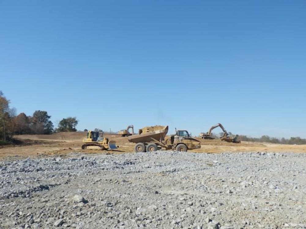 Louisville Paving and Construction Projects Civil Site Construction Rev A Shelf