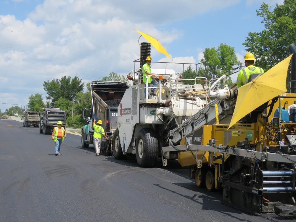 Louisville Paving and Construction Projects Heavy Construction Highway Bullitt County Hwy 61
