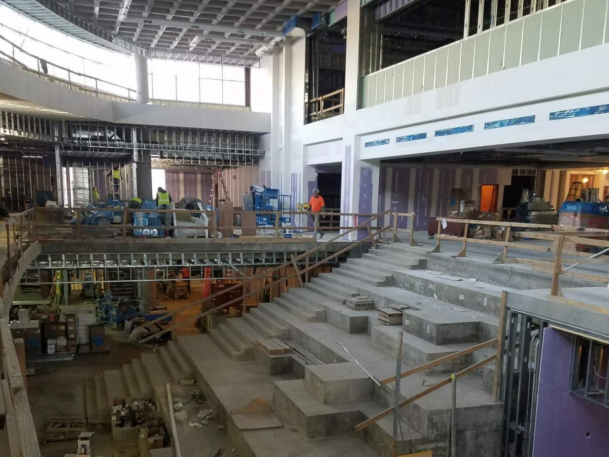 Louisville Paving and Construction Projects Pace Construction U Of L Belknap Academic Building