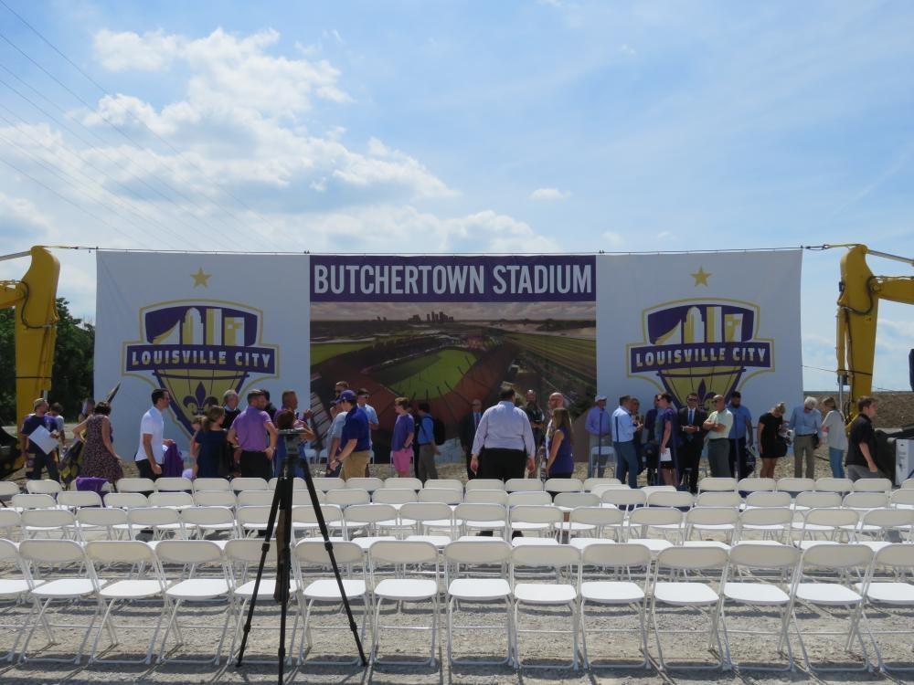 Louisville Paving and Construction Projects Civil Site Construction Lou City Fc Soccer Stadium