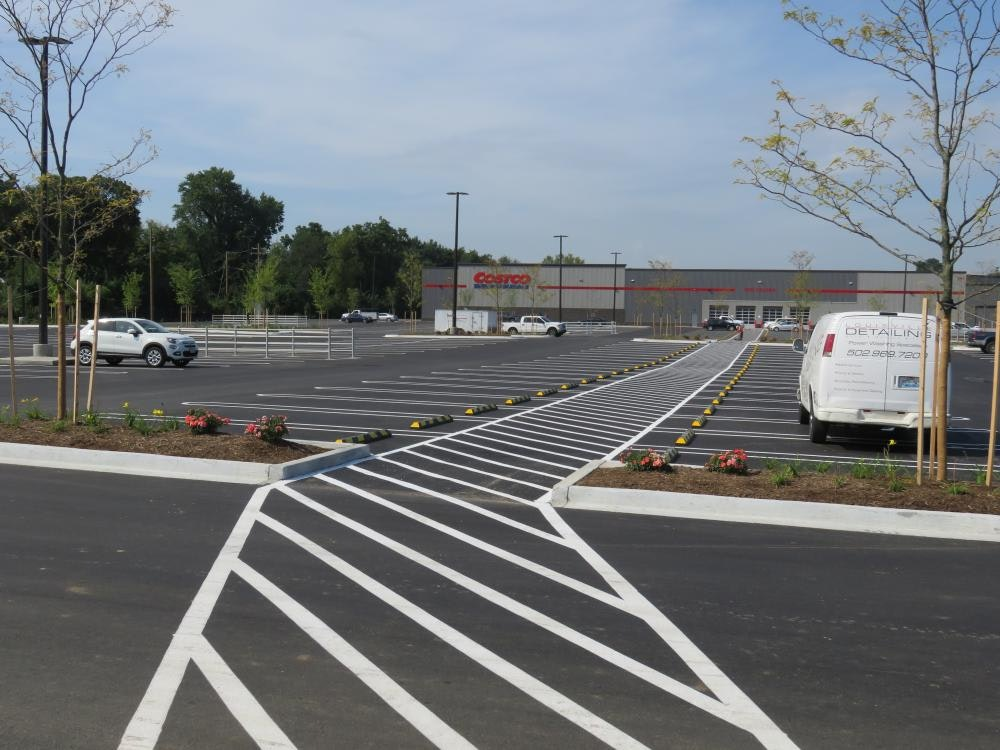 Louisville Paving and Construction Projects Civil Site Construction Costco