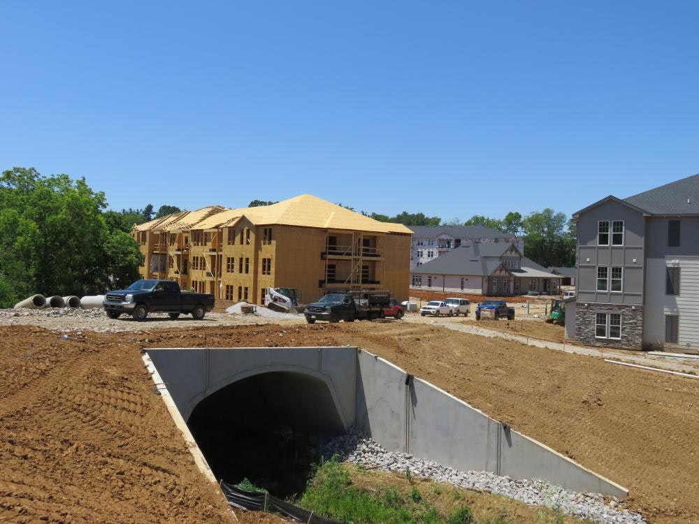 Louisville Paving and Construction Projects Civil Site Construction Westport Road Apartments