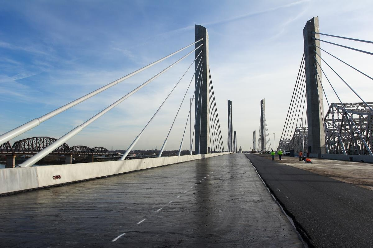 Louisville Paving and Construction Projects Paving Asphalt Lincoln Bridge