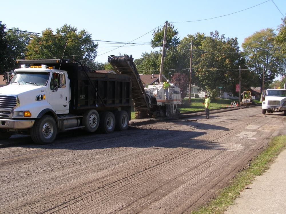 Louisville Paving and Construction Projects Paving Asphalt Milling Operations