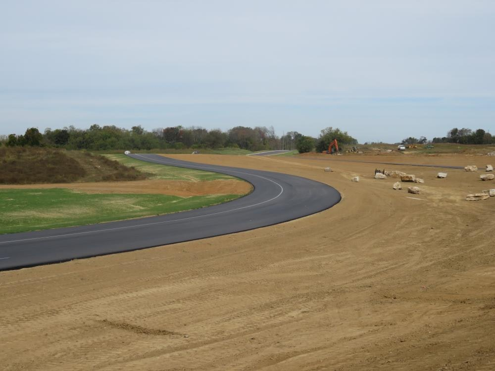 Louisville Paving and Construction Projects Heavy Highway Construction River Ridge Gateway Phase 1A Interchange