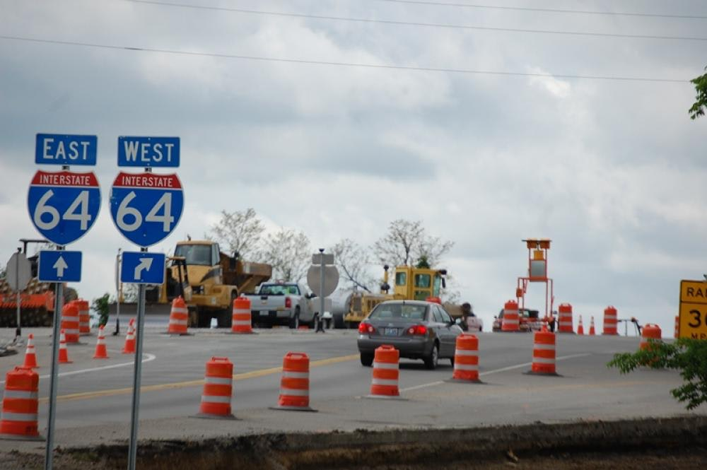 Louisville Paving and Construction Heavy Highway Construction I 64 Shelby County