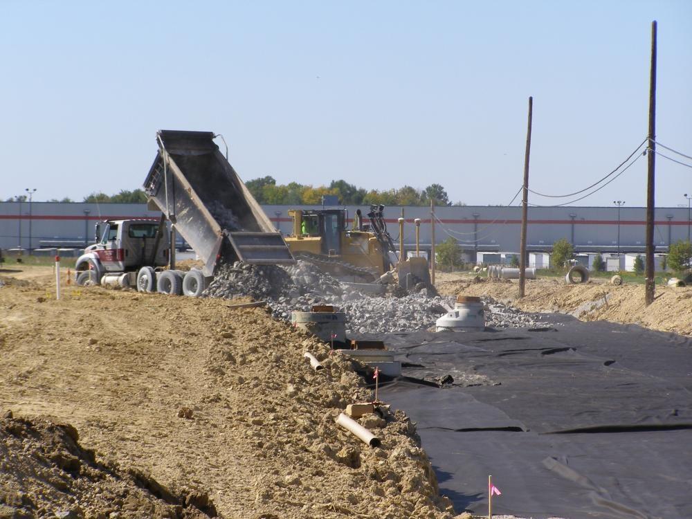 Louisville Paving and Construction Projects Civil Site Construction Renaissance South Business Park