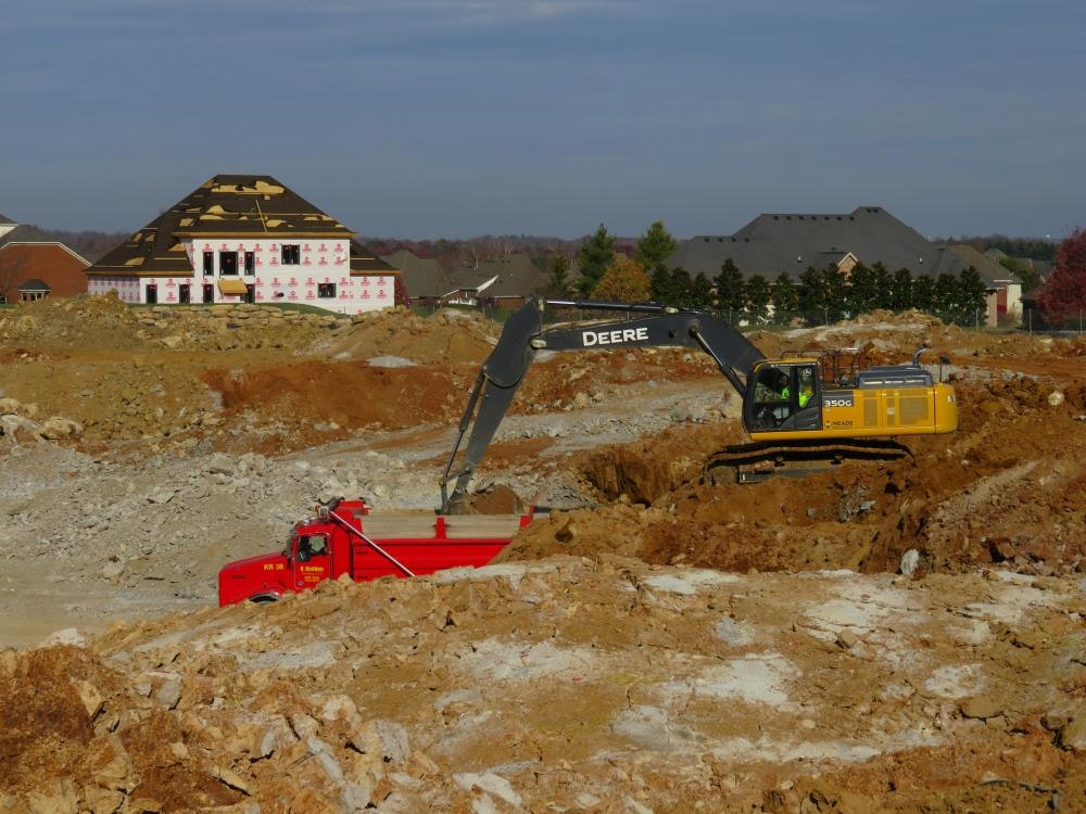 Louisville Paving and Construction Projects Civil Site Construction Lake Forest Senior Living