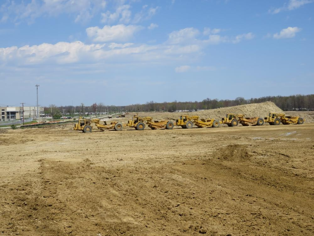 Louisville Paving and Construction Projects Civil Site Construction Red Twig