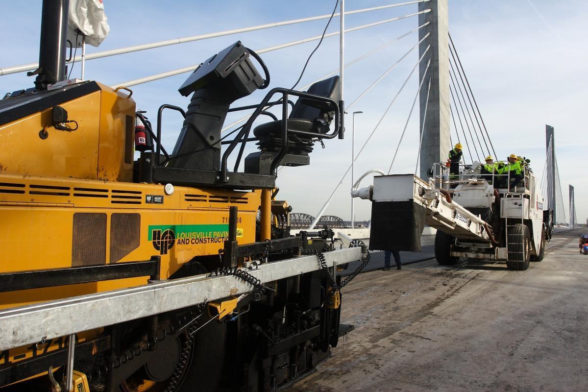 Louisville Paving and Construction Projects Paving Asphalt Lincoln Bridge Paving