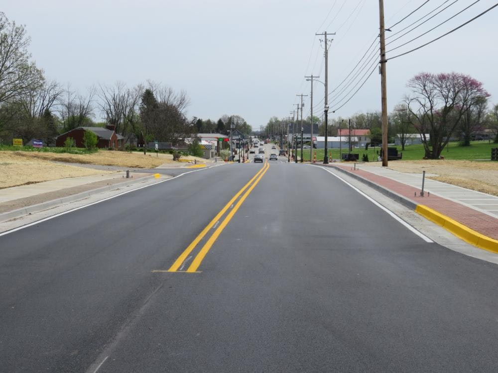 Louisville Paving and Construction Projects Pace Construction Us 60 Simpsonville Streetscape
