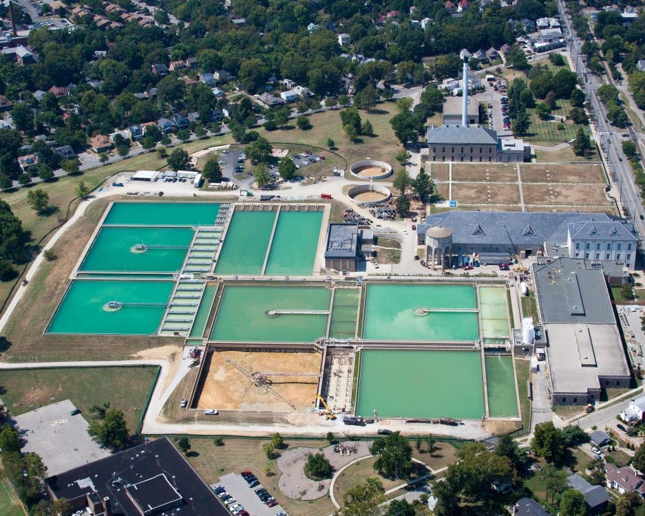 Louisville Paving and Construction Projects Pace Construction Crescent Hill Water Works