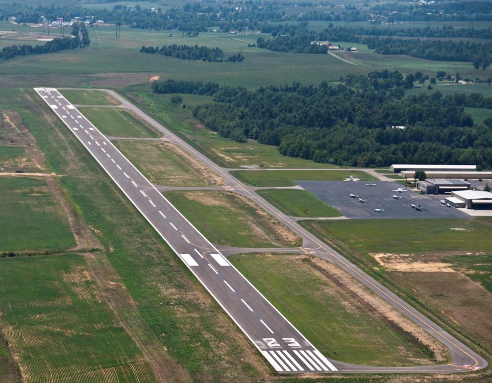 Louisville Paving and Construction Projects Paving Asphalt Addington Airport Runway